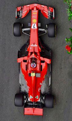 2018/4/27: Twitter: @FansOfKR : Few shots of #Kimi7 from today #AzerbaijanGP #Ferrari #F1
