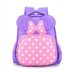1e2b75dee38c Waterproof Cartoon minnie mouse backpacks  kids baby bags backpacks for  children kid school bags shoulder bag for boys and girls