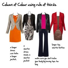 column of colour rule of thirds by imogenl on Polyvore featuring polyvore, fashion, style, 3.1 Phillip Lim, Dorothy Perkins, Scoop, Neon Hart, Hudson Jeans, Kelly Bergin and column of colour