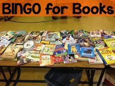 Elementary School Family Night Activities BINGO  BINGO - might be a good multi school event - Like the idea of adding books as prizes ??