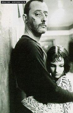 Jean Reno and Natalie Portman in The Professional