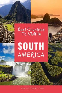 Two countries in South America share Patagonia – Argentina and Chile. Best Countries To Visit, Cool Countries, Cool Places To Visit, Places To Travel, Backpacking South America, South America Travel, Peru Travel, Travel Usa, Travel Tips