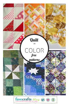 Quilting Color Pop: Finding the Perfect Free Quilt Pattern in Any Color