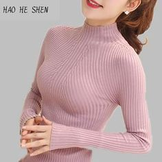 e04df66f35 Sweaters at Lisipieces.com. Sweater Womens Turtleneck Long Knit Long Sleeve Pullover  Jumper Outwear Winter ...