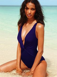 Victoria's Secret swimsuit. This is the one I want to wear this summer. Get Fit!