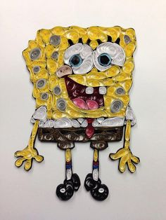 Hey, I found this really awesome Etsy listing at https://www.etsy.com/listing/261896825/paper-quilling-sponge-bob-square-pants
