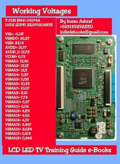 Professional Repairing Of LCD LED Plasma TV With Training Guide Software's And Troubleshooting Tricks. Sony Led Tv, Tv Led, Tvs, Electronics Basics, Electronics Projects, Arduino, Iphone Se, Circuit Board Design, Electronic Circuit Design