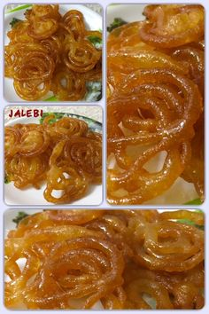Jalebi, also known as zulbia and zalabia, is a sweet popular food in some parts of South Asia, West Asia, North Africa, and East Africa.It's made by deep-frying all-purpose flour batter in pretzel or circular shapes, which are then soaked in sugar syrup.  #jalebi #sweets #desserts #homemade #recipe #hausgemacht #yummy #tasty #lecker #delicious #indianfood #indischessen #indiansweets #süss #vegetarian #vegetarisch #food Popular Food, Popular Recipes, East Africa, North Africa, Deep Frying, Indian Sweets, Homemade Recipe, Pretzel, Syrup