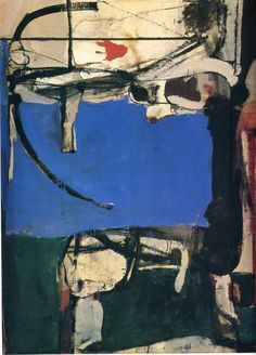 Richard Diebenkorn Artist   Urbana No. 2 (The Archer) - Richard Diebenkorn - WikiPaintings.org