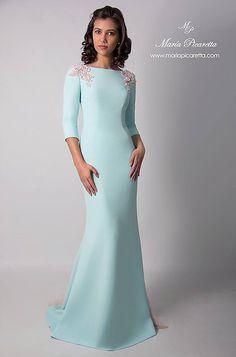 Vestidos de Fiesta. María Picaretta Sexy Evening Dress, Evening Dresses, Light Purple Prom Dress, Elegant Dresses, Beautiful Dresses, Couture Dresses, Fashion Dresses, Vestidos Versace, Bride Gowns
