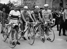 Jean Stablinski+, Jacques Anquetil+ , Raymond Poulidor en Rik Van Looy #bikeraceposter