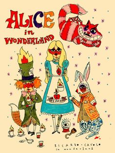 RICARDO·CAVOLO DIARY: Alice in Wonderland