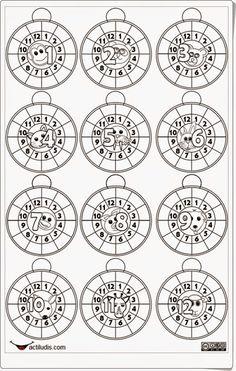 """Recursos didácticos para imprimir, ver, leer: """"La rueda de ..."""
