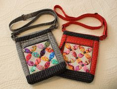 Love my Mini Peel Cross Body Bag!   It even has a hidden zipper pouch on the front pocket!