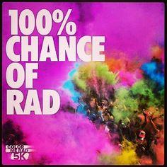 Color Me Rad Run...SO much fun for everyone!!!