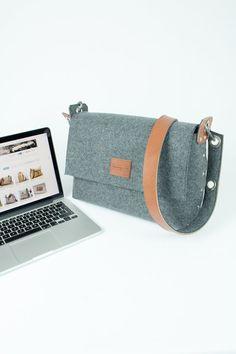 Laptop Messenger Bag Laptop Bag MacBook 13 Bag / Mens by Rambag Macbook Pro, Ipad, Laptop Messenger Bags, Briefcase, You Bag, Zip Around Wallet, Coin Purse, Satchel, Etsy