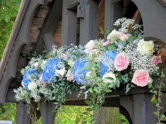 Big and Blousy Spring Wedding Blooms - Flowers by Nattrass Middleton Lodge, Church Flowers, Magical Wedding, Simply Beautiful, Spring Wedding, Wedding Flowers, Floral Wreath, Bloom, Pretty
