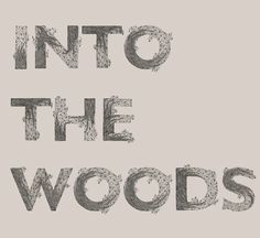 type-lover: Into the wood byMeni... | Must be printed