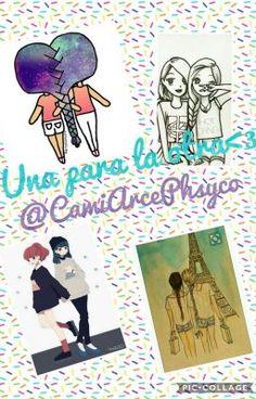 """#wattpad #humor Hola!! Somos dos mejores amigas, nos llamamos Camila y Marcela!! Siempre tenemos aventuras y escribimos libros, algunos son """"Ambrosio el bebé zombie"""" y """"La historia más creíble del mundo"""". Las dos tenemos 11 años, nos gusta: Fnafhs, el yaoi lemon, el anime, wattpad, las videollamadas y bla bla bla..."""