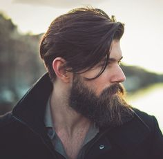 45 Long and Full Beard Styles - Fashiondioxide Beard Styles For Men, Hair And Beard Styles, Short Hair Styles, Bart Design, Handsome Bearded Men, Beard Quotes, Mens Hairstyles With Beard, Sexy Beard, Great Beards