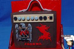 Tarta Amplificador (Slayer y Sepultura)