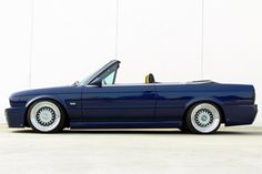 BMW e30 Convertible, it's always nice to have classic taste