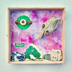 mano kellner, project 2016, kunstschachtel / art box nr 24/2016, unbekannte flugobjekte
