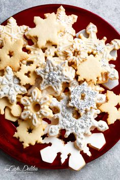 Christmas Sugar Cookies Recipe - Cafe Delites Sugar Cookies From Scratch, Best Sugar Cookies, Sugar Cookies Recipe, Cookie Recipes, Bar Recipes, Cheesecake Recipes, Christmas Sugar Cookie Recipe, Holiday Cookies, Christmas Baking