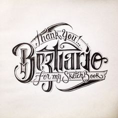 Handlettering and calligraphy on Typography Served