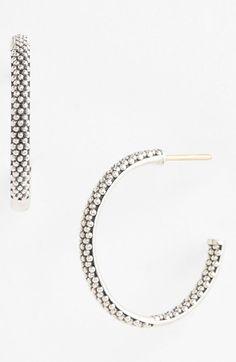 Caviar Hoop Earrings
