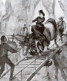 Empress Elisabeth riding accident at Sassetot