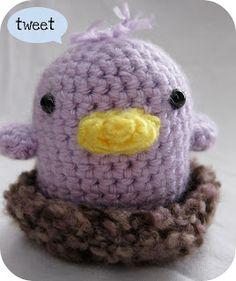Tiny Birdie Amigurumi ~ Free Pattern
