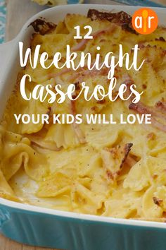 Easy Weekday Meals, Easy Meals For Kids, Easy Family Meals, Dinner Recipes For Kids, Kids Meals, Kids Dinner Ideas, Easy Kid Friendly Dinners, Easy Dinners, Best Casseroles