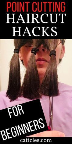 DIY Home Haircut | Simple How to Trim Your Own Hair Tips - CATICLES