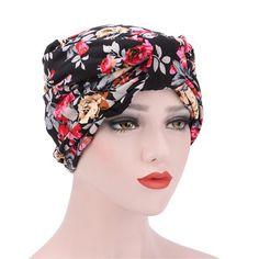 Women Cotton Print Beanies Hats Casual Outdoor Windproof Anti-UV Bonnet  Warm Cap is hot sale on Newchic. 63d68c6129b7