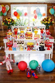 Festa Circo da Manuela | Macetes de Mãe