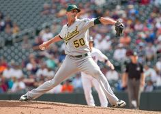 CrowdCam Hot Shot: Oakland Athletics pitcher Grant Balfour throws a pitch in the ninth inning against the Minnesota Twins at Target Field. Photo by Brad Rempel