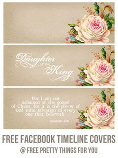 Facebook: Scripture Timeline Covers