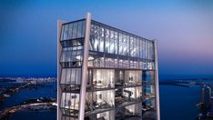 The magnificent living experience at 1000 Museum in Miami will for sure exceed your expectations. This amazing condo designed by Zaha Hadid counts with the finest finishes and amenities known to mankind.