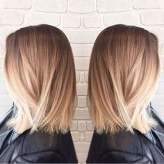We love this lob or long bob! Lobs are perfect because they can be styled up or left naturally and always look gorgeous!