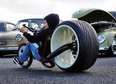 What a cool bike for a kid
