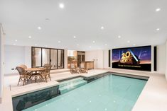 Our latest moving floor pool is one of many custom-designed features in a luxury…