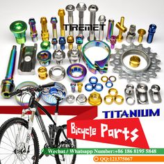 43 Best Titanium Bicycle Parts And Bolts Images Bicycle Parts