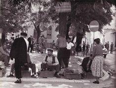 Street Scene in Trikala at