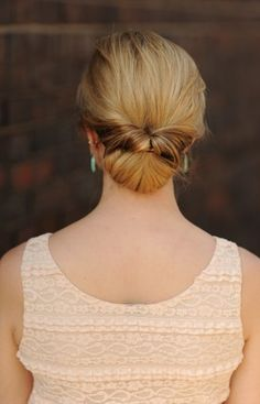 Trend Hairstylel Tender Updos for Medium Length Hair,It is true that a medium size hair might deliver some limitations on versatility of hairstyles whereas some hairstyles look actually higher on lengthy...