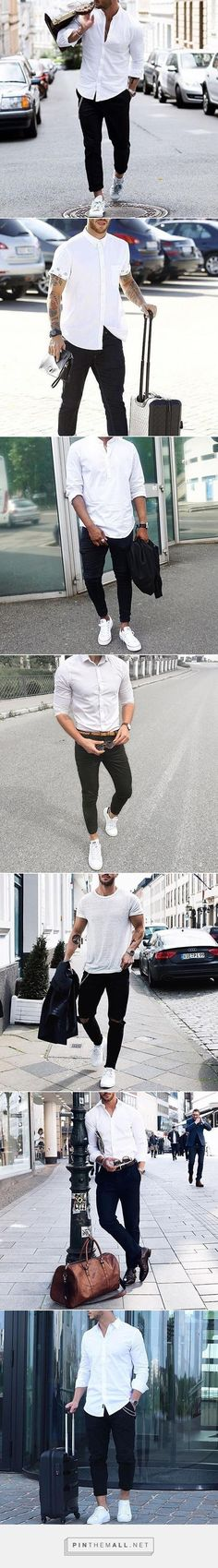 Black & White Outfit Combination For Men. #mensfashion