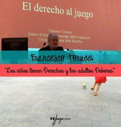 Francesco Tonucci: Reflexiones sobre los Derechos del Niño