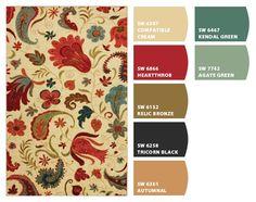 Home Color Scheme Ideas - using ChipIt!
