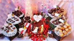 ''I love Chocolate Party-Winter edition'',for. Chocolate Party, I Love Chocolate, Marathon, Sweet Recipes, Magic, Table Decorations, My Love, Winter, Christmas