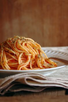 pasta alla scarpara - Sicilia